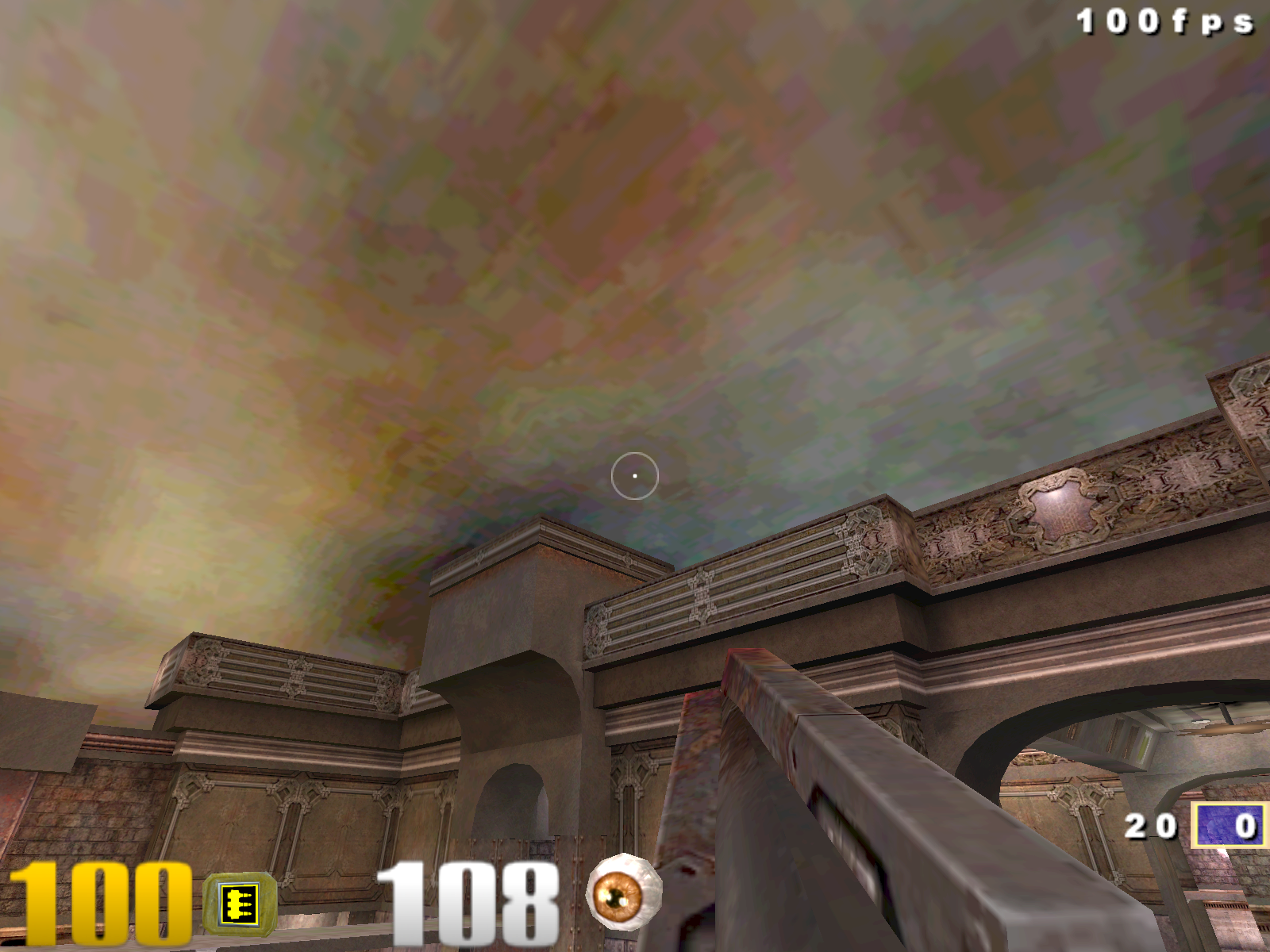 Quake 3 GeForce Sky DXT1 Compression On.png