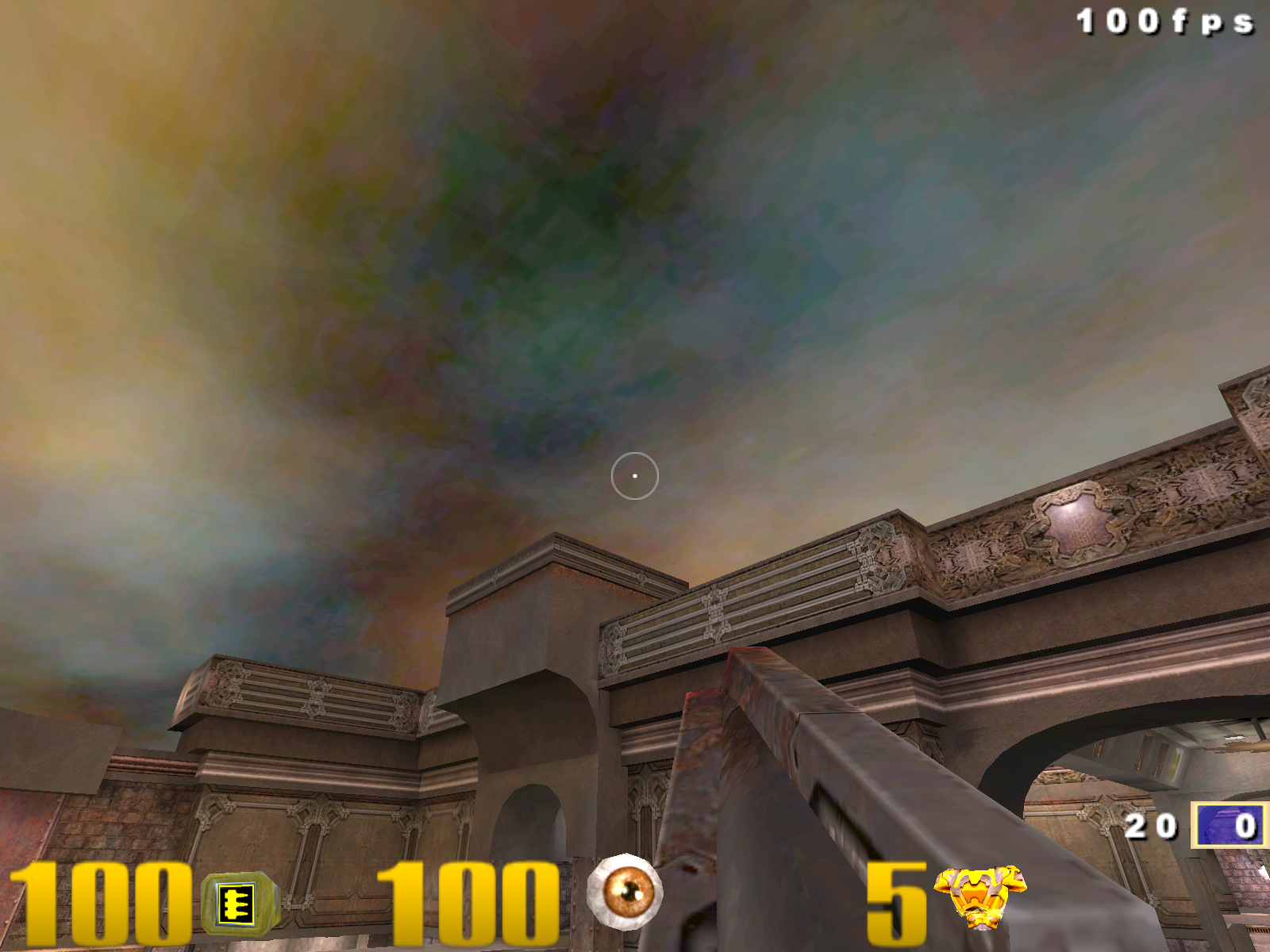 Quake 3 GeForce Sky DXT3 Compression On.png