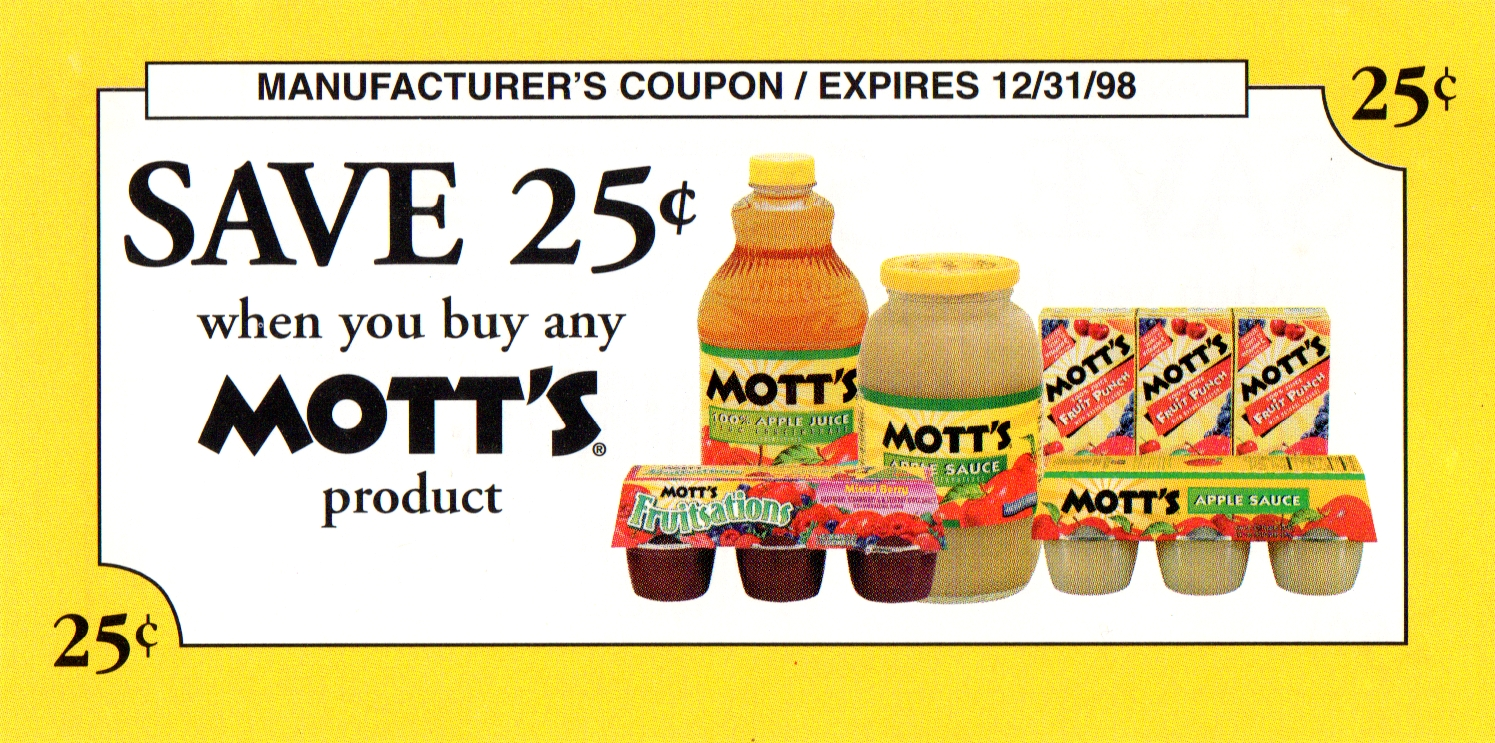 Mott's The Prince & The Prankster Coupon Front.jpg